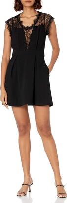 BCBGeneration Women's LACE Inset Dress