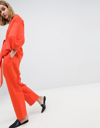 ASOS Drop Crotch Twill Two-piece Pants