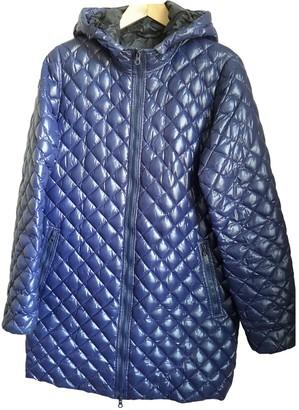 Duvetica Blue Polyester Coats
