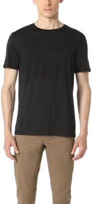 Theory Men's Claey Plaito Dressy Crew Neck T Shirt