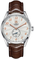 TAG Heuer Men's Swiss Automatic Carrera Calibre 6 Brown Alligator Leather Strap Watch 39mm WAS2112.FC6181