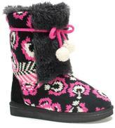Muk Luks Girls' Jewel Boots