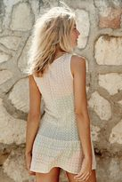 aerie K Ti Per Te Crochet Dress