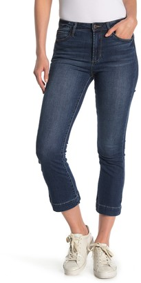 Articles of Society London High Rise Crop Flare Jeans