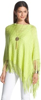 Chico's Colleen Asymmetrical Poncho