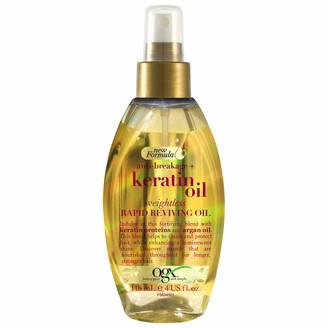 OGX Anti-Breakage+ Keratin Oil Weightless Rapid Reviving Oil Spray 118ml