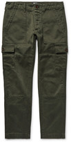 Todd Snyder Brushed-Cotton Cargo Trousers