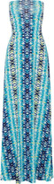 Tart Collections Ariel printed stretch-modal jersey maxi skirt