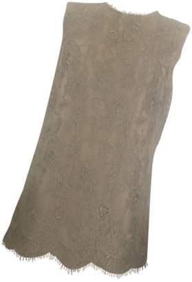 Dolce & Gabbana Beige Lace Dress for Women Vintage