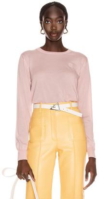 Loewe Anagram Sweater in Baby Pink | FWRD