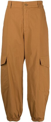 Barena High-Rise Loose Fit Trousers