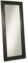 Abbyson Large Leather Floor Mirror
