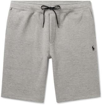 Polo Ralph Lauren Melange Tech-Jersey Drawstring Shorts