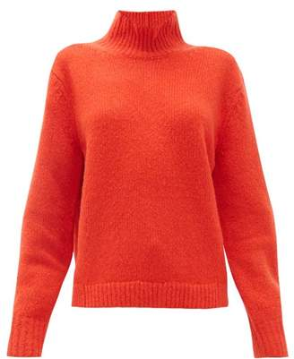 Acne Studios Kastrid Wool-blend Sweater - Womens - Red