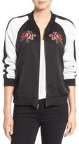 Cupcakes And Cashmere Women's Daffodil Varsity Jacket