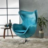 Christopher Knight Home Gordon Velvet Swivel Chair