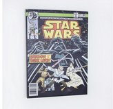 Disney Star Wars Shadow of Dark Lord Comic Canvas - Black