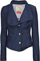 Vivienne Westwood Asymmetric denim blazer