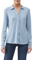 Thumbnail for your product : Michael Stars Ultra Jersey Harley Long Sleeve Knit Shirting