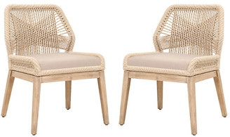 One Kings Lane Set of 2 Easton Side Chairs - Sand