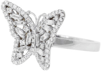 Suzanne Kalan SMALL DIAMOND BUTTERFLY RING