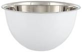 John Lewis Large Stainless Steel Mixing Bowl, White, Dia.26cm