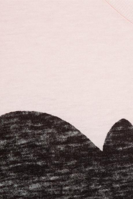 Zoe Karssen Bat cotton and modal-blend T-shirt