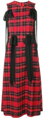 Simone Rocha Tartan Multi-Bow Dress