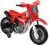 Red Honda CRF250R 6V Dirt Bike Ride-On