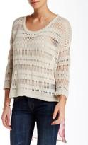 Aratta Love Memory Silk Contrast Sweater
