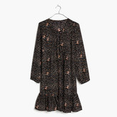 Madewell Silk Fiesta Paisley Dress