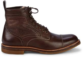 Johnston & Murphy Shearling-Lined Leather Boots