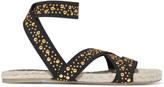 Castaner Inette stud-embellished grosgrain sandals