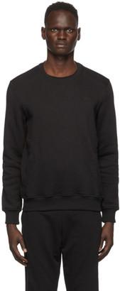 Ermenegildo Zegna Black Logo Sweatshirt
