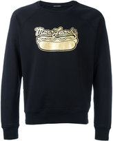 Marc Jacobs logo print sweatshirt - men - Cotton/Polyester - L