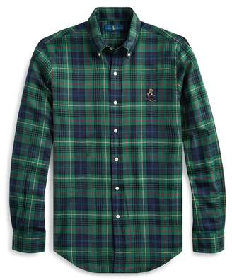 Ralph Lauren Slim Fit Ski Bear Twill Shirt