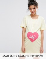 Emma Jane Baby Button Front Nursing Nightdress