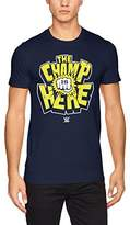 WWE Men's the Champ Is Here T-Shirt