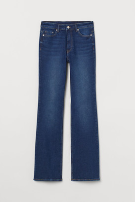 H&M Bootcut High Jeans