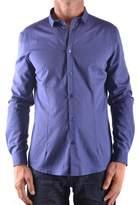 Daniele Alessandrini Men's Blue Shirt.