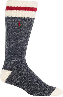 Polo Ralph Lauren Men Big & Tall Monkey Boot Socks