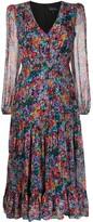 Saloni floral day dress