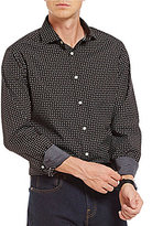 Daniel Cremieux Grandeur Nights Collection Long-Sleeve Paisley Woven Button-Front Shirt