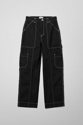 Weekday Grow Trousers - Black