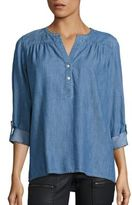 Soft Joie Joie Mayleen Cotton Chambray Top