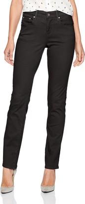Levi's Women's Straight 505 Jeans - Black - 33 (US 16) Small