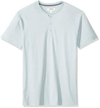 Goodthreads Men's Short-Sleeve Sueded Jersey Henley