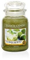 Yankee Candle Cuban Mojito Jar Candle, Green, Large