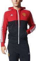 adidas Manchester United 3Stripes Full Zip Hoodie Men's Soccer XL
