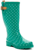 Chooka Classic Dot Waterproof Rain Boot (Women)